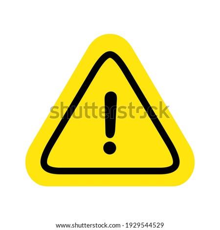 caution warning sign sticker editable