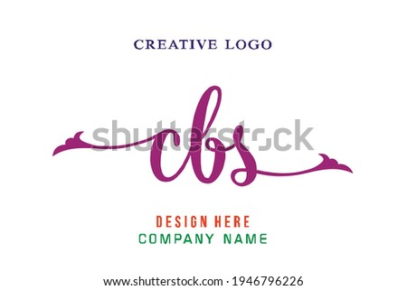 CBS lettering logo is simple, easy to understand and authoritative