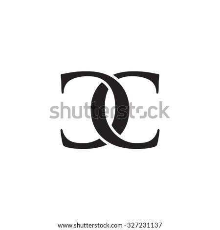 cc chain letter monogram