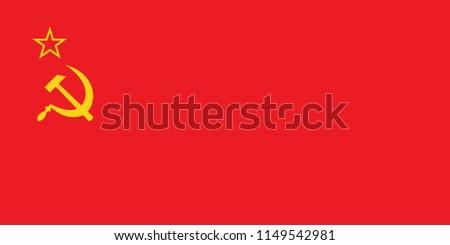 cccp flag  communist icon