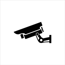 cctv icon isolated on white background from airport collection.