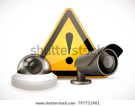 cctv symbol   security camera