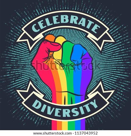 celebrate diversity raised
