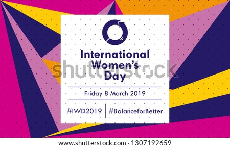 Celebrate International Women's Day 2019 - Vector