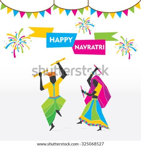 celebrate navratri festival