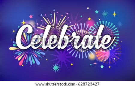 celebrate  victory background