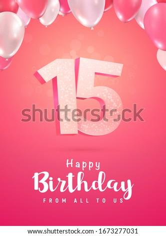 celebrating of 15 years