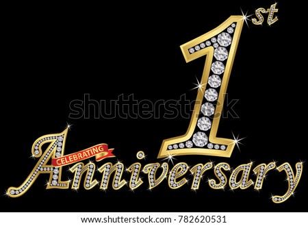 Bright anniversary icons download free vector art stock