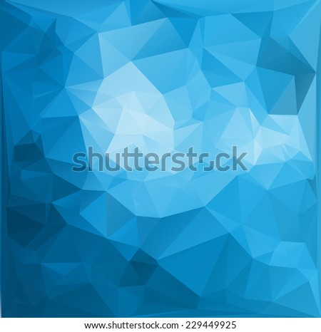 Celebration Beautiful Polygonal Mosaic Background Vector illustration Business Design Templates