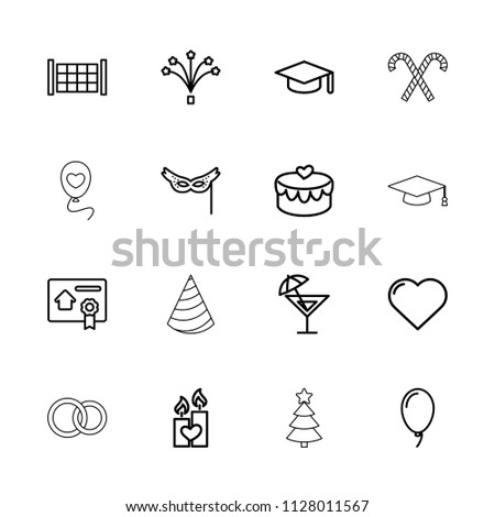 celebration icon collection of