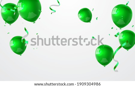 celebration party banner with