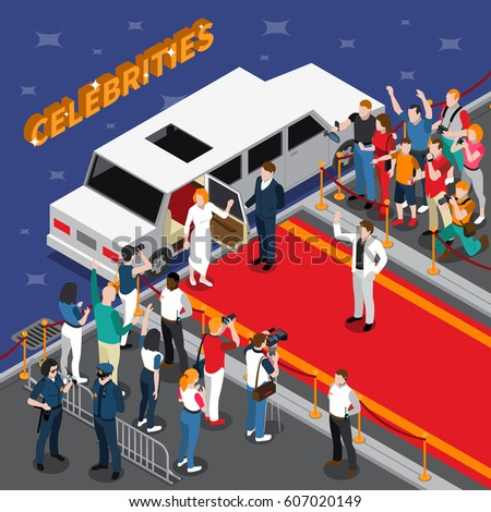 celebrities on red carpet