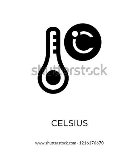 Celsius icon. Celsius symbol design from Weather collection. Simple element vector illustration on white background.