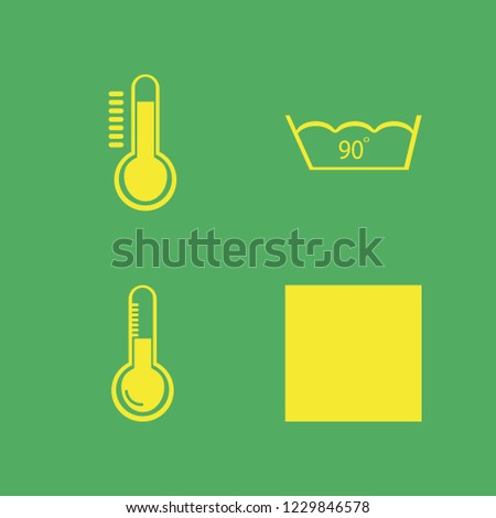 celsius icon. celsius vector icons set delicate gentle degrees and temperature