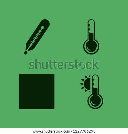 celsius icon. celsius vector icons set temperature, temperature sun, thermometer and delicate gentle degrees