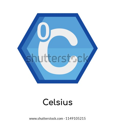 Celsius icon vector isolated on white background for your web and mobile app design, Celsius logo concept
