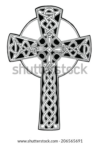 Royalty Free Golden Gothic Cross On Silver Rose 432465517 Stock
