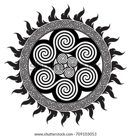 celtic design   spiral celtic