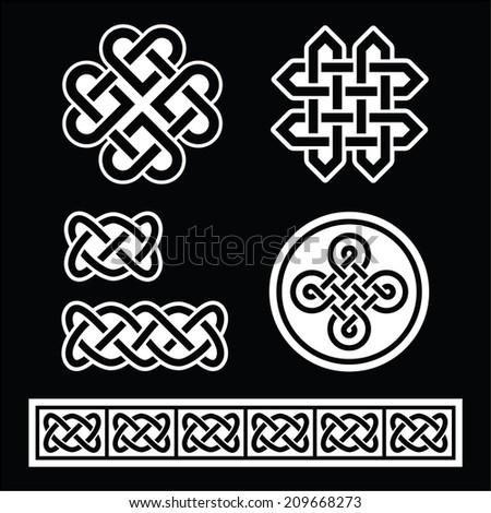 celtic irish patterns and