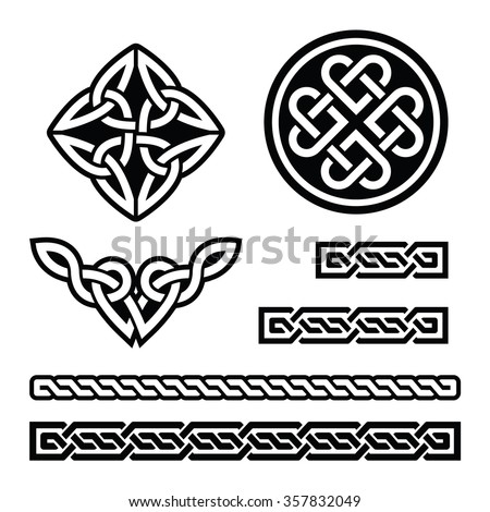 celtic irish patterns and