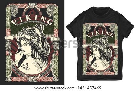 celtic woman viking slogan