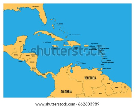 central america and carribean