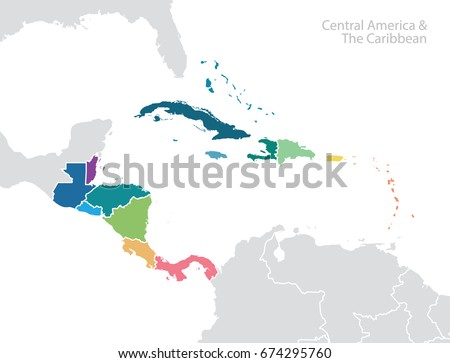 central america and the