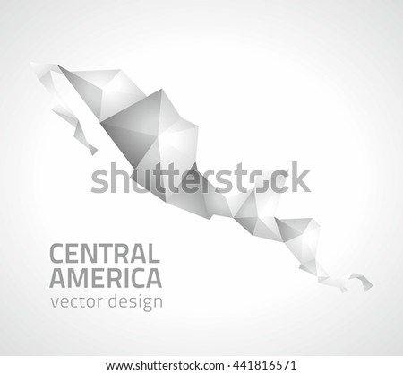 Central America Map Vector Graphics Download Free Vector Art