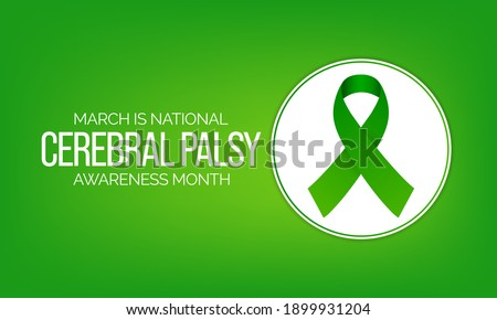 Cerebral palsy (CP) is a group of disorders that affect a person's ability to move and maintain balance and posture. CP is the most common motor disability in childhood. Vector illustration. Stock photo ©