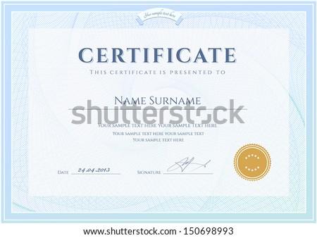 certificate  diploma of