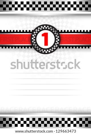 Certificate of award, vector illustration 10eps