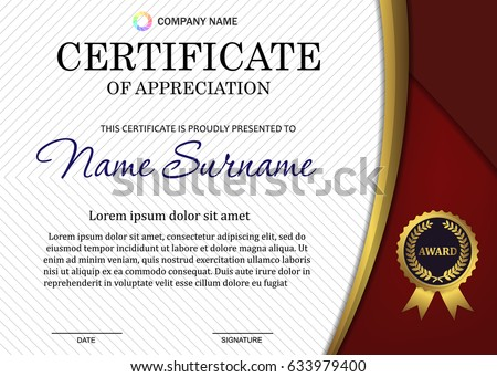 free diploma template illustration download free vector art stock