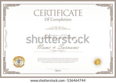 Certificate Border Design – Certificate Borders Free Download