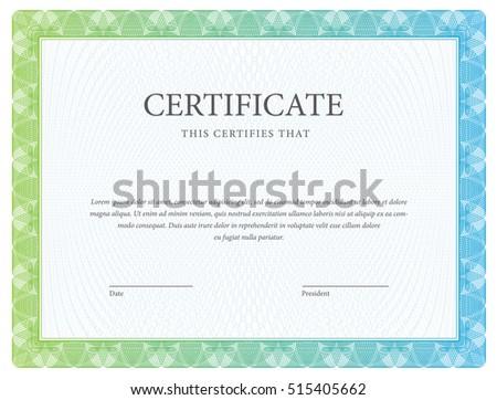 Elegant blue diploma certificate design template download free certificate template diploma currency award background gift voucher vector yadclub Gallery