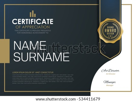 stock-vector-certificate-template-with-luxury-and-modern-pattern-diploma-vector-illustration