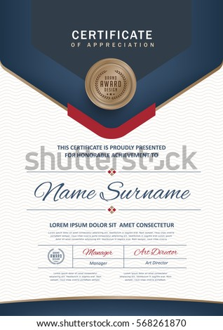 50+ Certificate Template Vectors | Download Free Vector Art