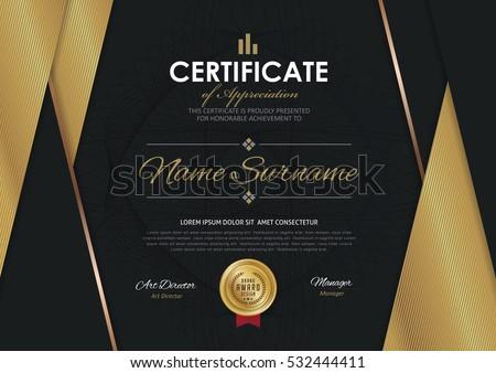 elegant certificates templates