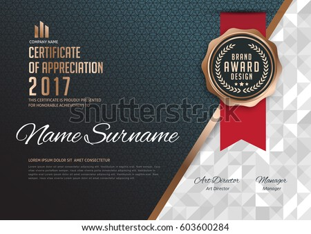 stock-vector-certificate-template-with-luxury-pattern-diploma-vector-illustration