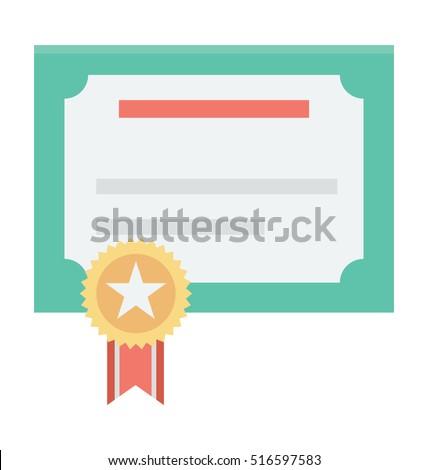 Certification Vector Icon