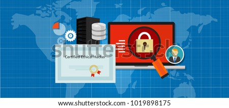 Certified Ethical Hacker security expert in computer penetration consulting company education paper standard