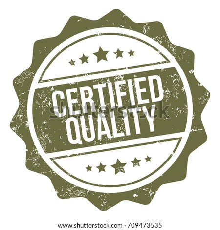 Certified Quality Stamp