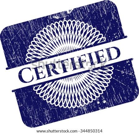 Certified rubber grunge seal