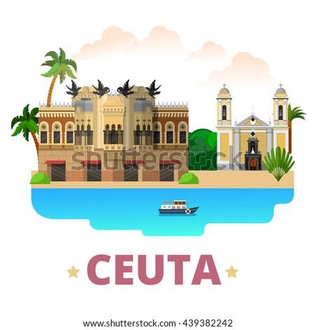 ceuta country design template