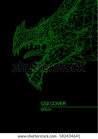 cgi cover head of dragon like