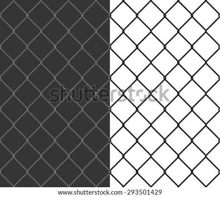chain fence seamless background