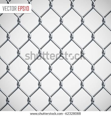 chain fence vector illustration