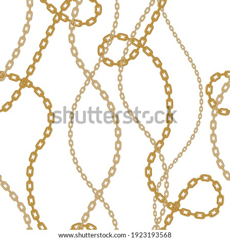 Chains pattern seamless. Design for fabric, wallpaper, wrapping, background. Photo stock ©