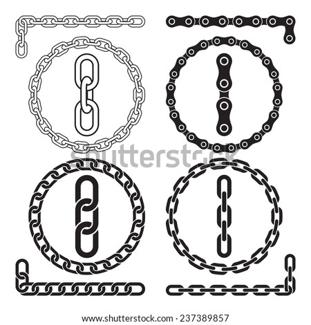 chains vector illustration