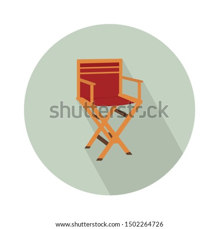 chair director icon - From Movie and film icons set