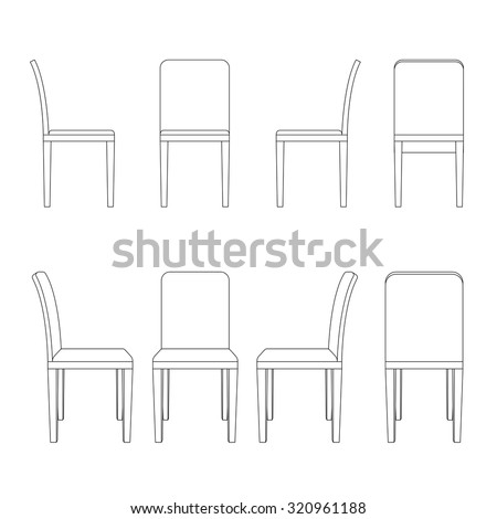 Chair illustration out...